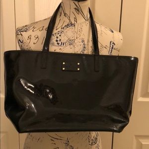 Kate Spade ♠️ Patent Leather tote